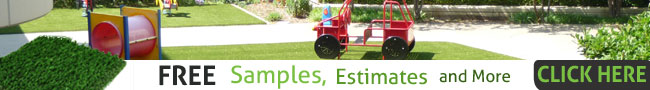 Kansas City artificial lawns free estimate banner