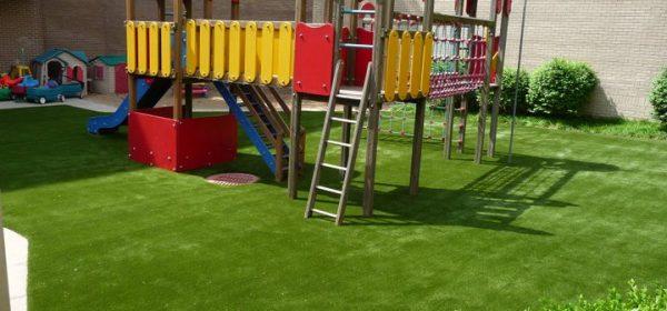 The Benefits of Artificial Grass for Playgrounds